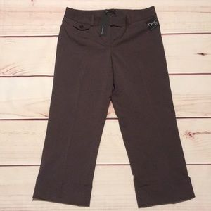 NWT New The Limited Cropped Pants Size 0 Drew